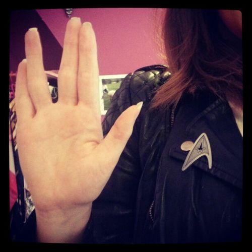 Startrek Geek Spock Livelongandprosper Vulcan Logic Awesome Loveit Intodarkness