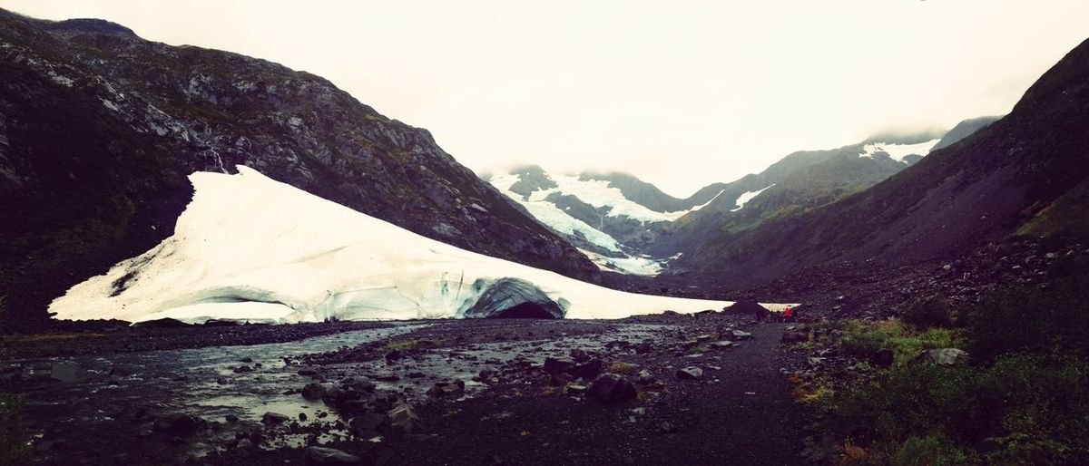 Winter White By CanvasPop Alaska Glacier Snow