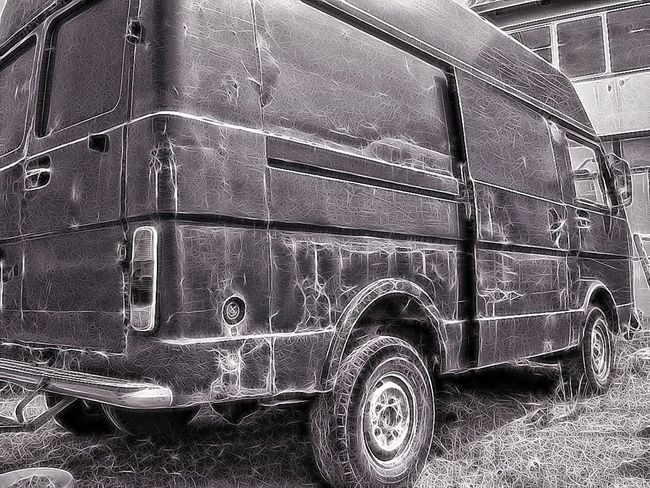 Blackandwhite Truck Paintshop