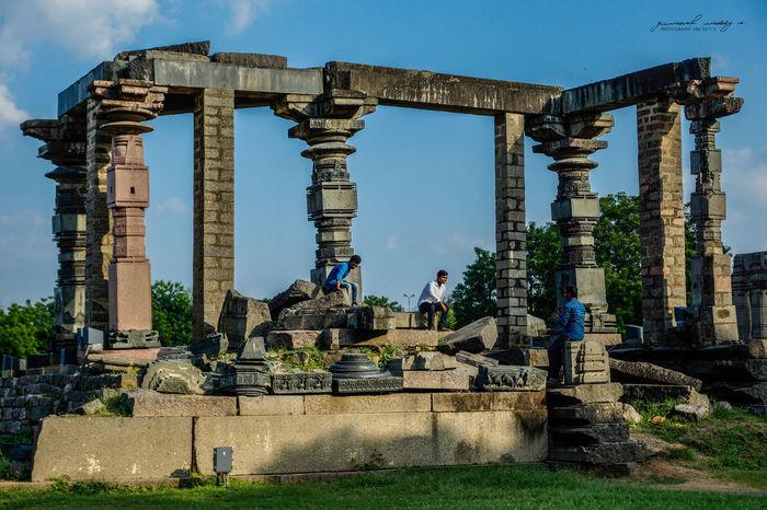 Fortwarangal Warangal India Andrapradesh Fort