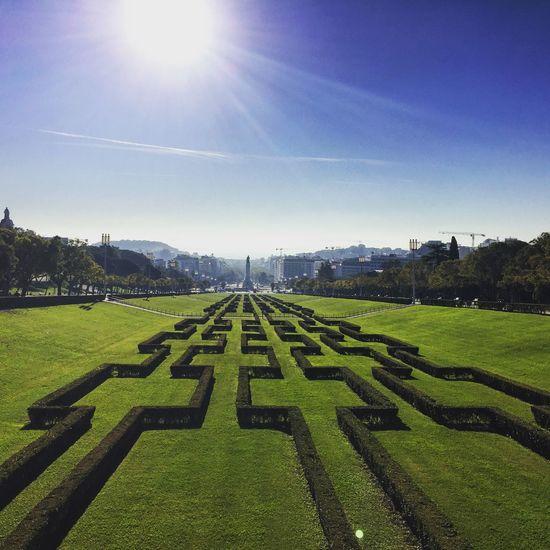 Lisbon Lisboa Portugal Portuguese Parqueeduardovii Sunnymorning Sunny Morning