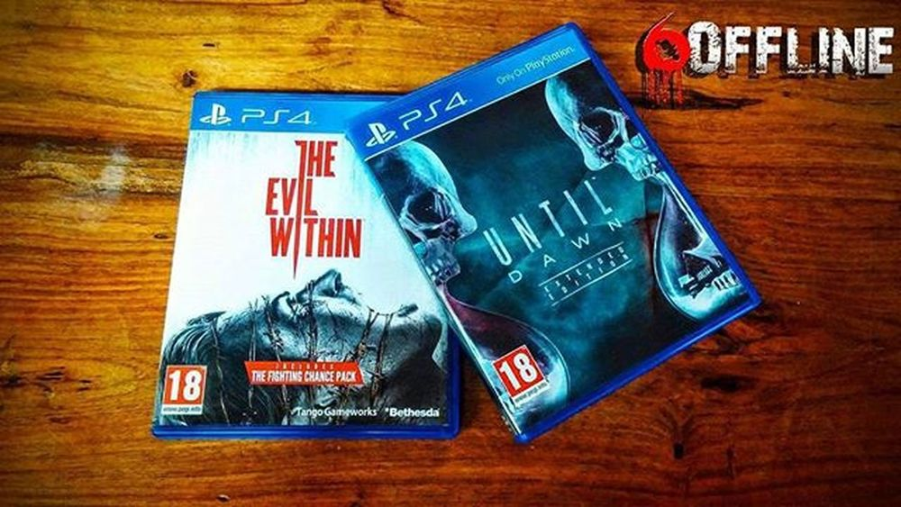 ~ Welcome Home ~ ~ The_evil_within & Untildawn PS4 ~ 😃✌❤