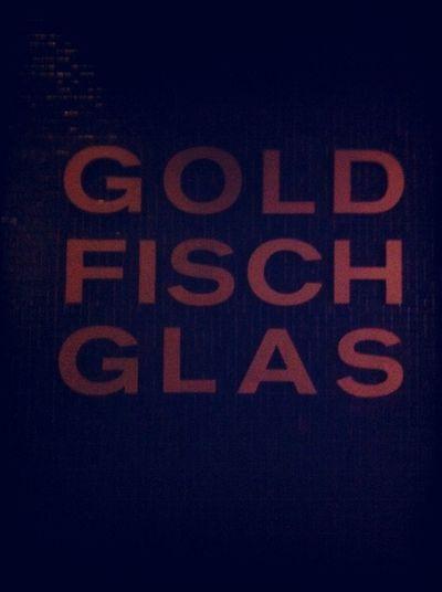 Drinks at Goldfischglas Drinks