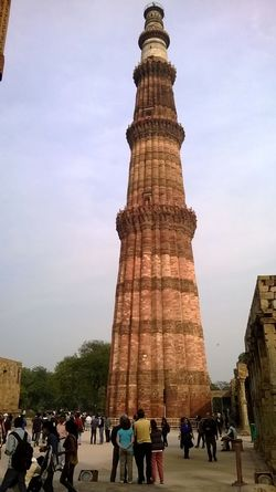 India Photography India Travel Diaries Photography #photo #photos #pic #pics #tagsforlikes #picture #pictures #snapshot #art #beautiful #instagood #picoftheday #photooftheday #color #all_shots #exposure #composition #focus #capture #moment Qutub Minar, New Delhi Sky Spanish Culture Stone Material Tall Tall - High Tourism Tower Travel Destinations Travel India Travel Photography
