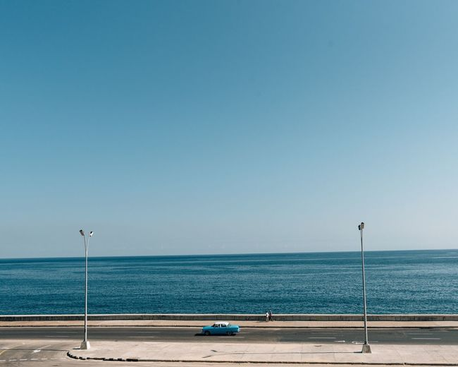 Been There. Sea Beach Blue Horizon Over Water Clear Sky Water Copy Space Day Nature Scenics Tranquil Scene Beauty In Nature No People Outdoors Sky