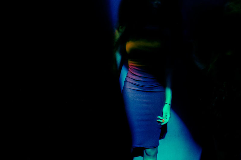 Beautiful Clubbing Going Out Postcode Postcards Woman Black Background Club Disco Girl Human Body Part Human Hand Leisure Activity Lifestyles Light And Shadow Low Section Midsection Nightout One Person Skirt Standing Studio Shot Woman Who Inspire You