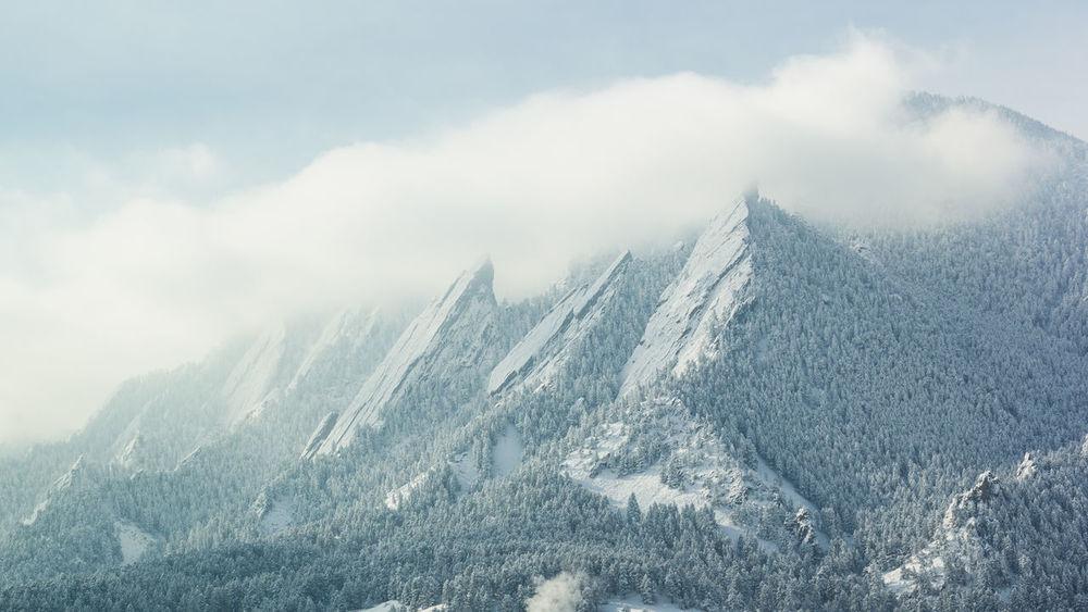 Mountains Landscape Winter Snow