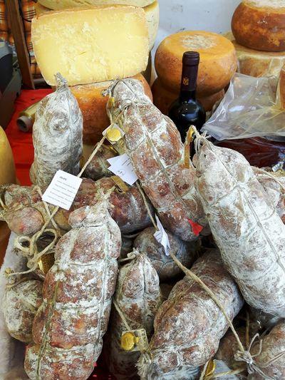 Italienische Wurst und Käse Food Bread Food And Drink Eyem Collection Germany🇩🇪 Beliebte Fotos EyeEm Best Shots Käse Day Close-up