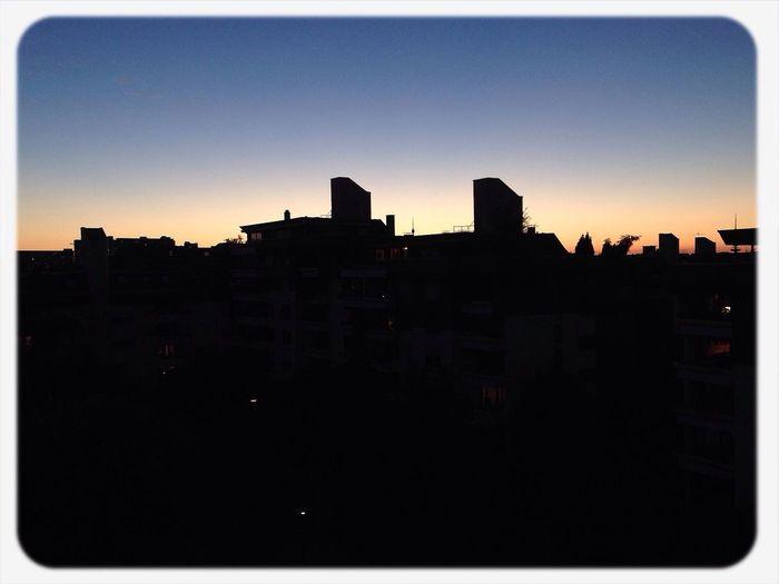 Sunset Stuttgart Nofilter