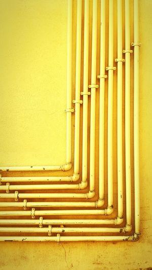 Straight Lines Geometric Shape Tubes Simplicity