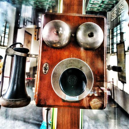 Old Phone Old Phone Photo Close-up Metal Indoors  Old Days