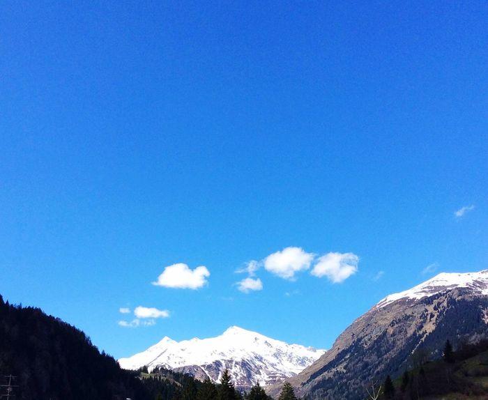 Travel Photography Schöner Ausblick Schöne Landschaft Himmel Und Wolken Berge