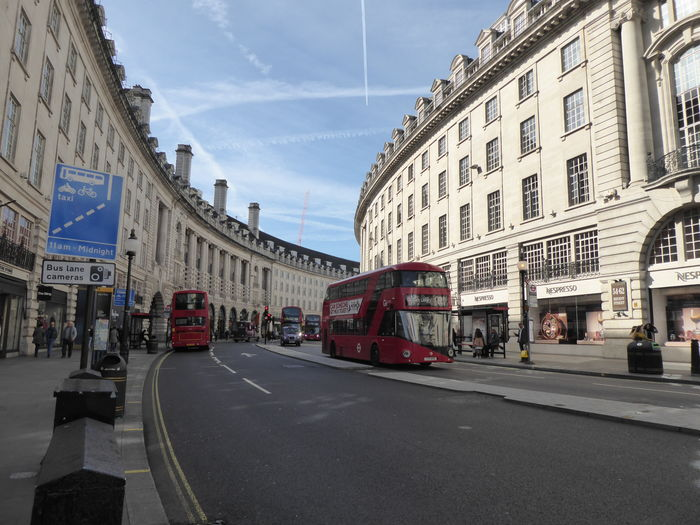 Architecture Brexit Brexit Vote Building Exterior Red London Busses Red London Double-decker Regent Street London Road Transportation