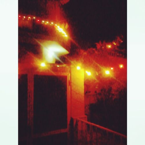 xmas Light And Shadow Christmas