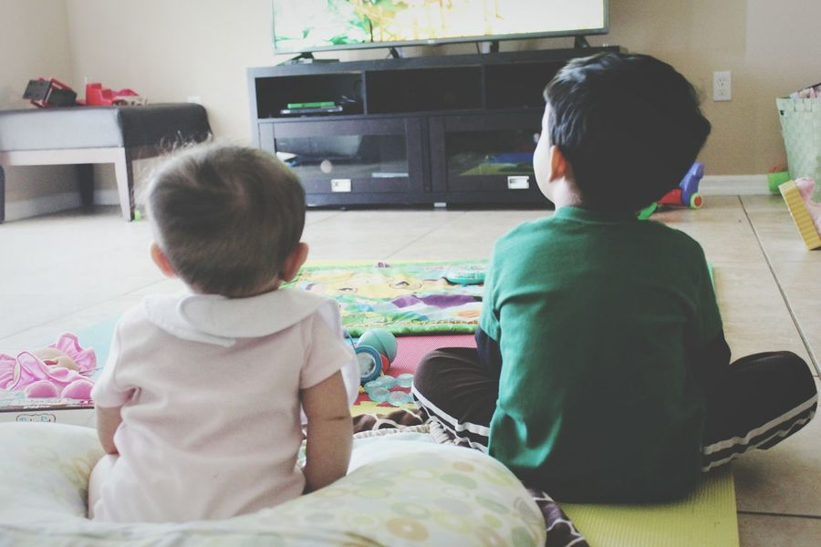 Baby And Toddler Toddler  Baby Brother And Sister Always Together She Copies Him Sibling Love