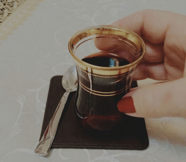Drink Tea - Hot Drink Drinking Glass Deliciuos Türkiye çay Goodtimes✌