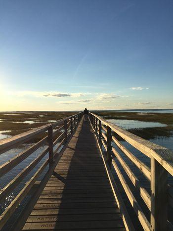Cape Cod Boardwalk Sunset Breathtaking View