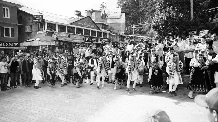 B&w Street Photography Folk Dance Public Space