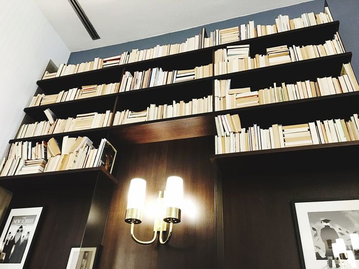 Furniture Design EyeEmNewHere Picture Coffee Time Berlin Cafeteria Light Bookshelf Books University Humboldt University Berlin Humboldt Universität  Architecture Built Structure Low Angle View No People Wall - Building Feature Creative Space