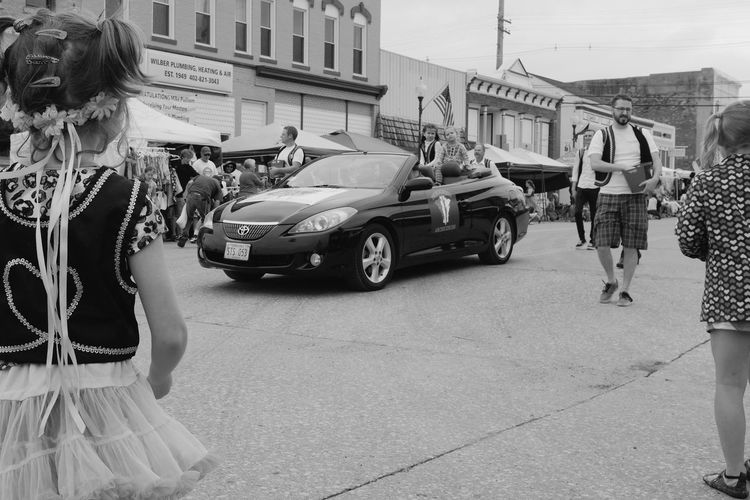 56th Annual National Czech Festival - Saturday August 5, 2017 Wilber, Nebraska Americans Camera Work Celebration Czech-Slovak Event FUJIFILM X100S Getty Images Nebraska Photo Essay Small Town America Storytelling Visual Journal Wilber, Nebraska Architecture Building Exterior Built Structure Car City Culture And Tradition Cultures Czech Days Czech Festival Day Documentary Land Vehicle Lifestyles One Person Outdoors Parade People Photo Diary Real People Small Town Stories Standing Street Transportation Women Young Adult Young Women