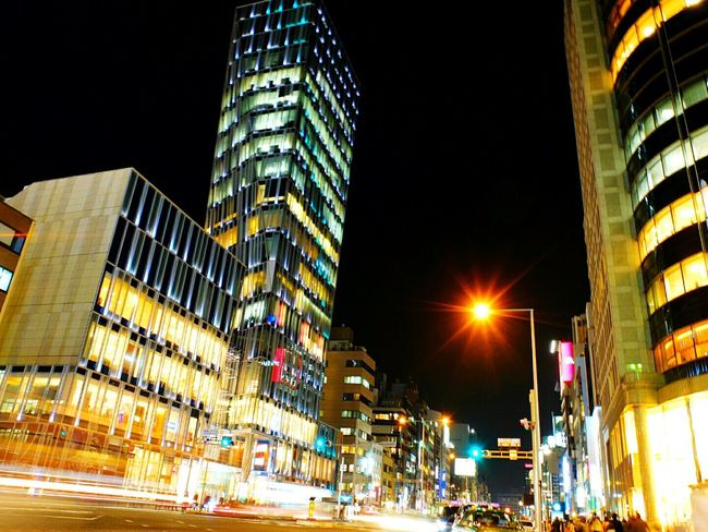 Love! Square at Aoyama Tokyo Buildings STLSQA Nightphotography Night Photography City View  Architecture Building On The Road Cool Japan Night Lights