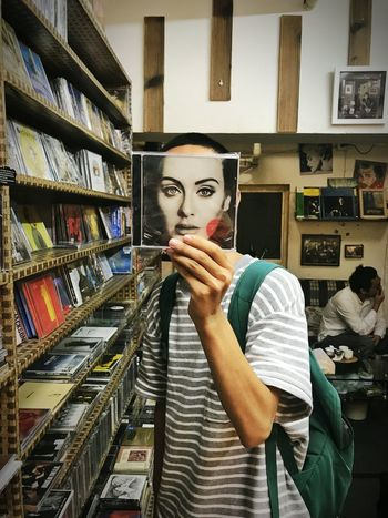 I love this record store.端午节去的,老板说为了纪念屈原,全场半价.We went there on Dragon Boat Festival,the owner half the price in memory of Qu Yuan Bruno's Selfie EyeEmNewHere Mobilephotography Mobile Phone Photography Mobile Photography Project Backgrounds Streetphotography Streetart Young Adult Adele25 Adele