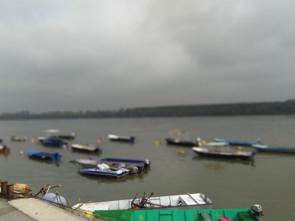 Travael Nofilter Water Fog Over Water River Cloud - Sky Belgrade Serbia Beauty In Nature Boats Nofocus