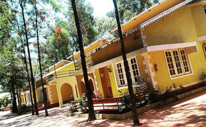 Home for the next 2 days... Travelingram Travelporn Maharashtra Hillstation Cottage Panchgani Adventure Travel Instatravel