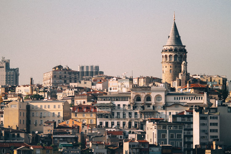 Architecture City Galata Tower Istanbul Outdoors Tower Travel Destinations Turkey Türkiye