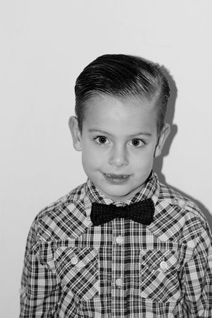 All dressed up!! Capture The Moment Check This Out Canonphotography Canon EyeEm Best Shots - Black + White EyeEm Selects EyeEm Gallery Eye4photography  EyeEm Best Shots Black And White Photography Blackandwhite Photography Black & White Black And White Blackandwhite Portrait Looking At Camera Studio Shot Childhood Boys Bow Tie White Background Elementary Age Human Face Smiling Child Cute Headshot
