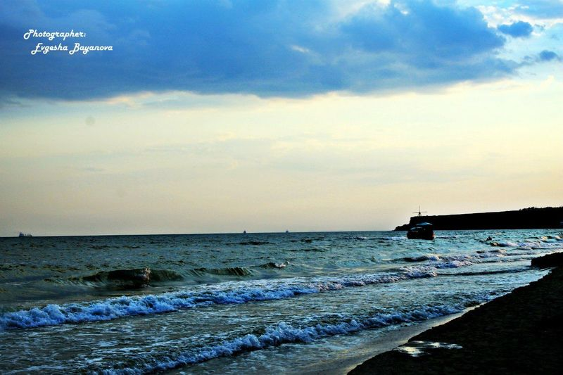 Черное море Hello World Nature