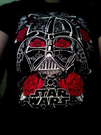 My awesome Star Wars T-shirt Darth Vader