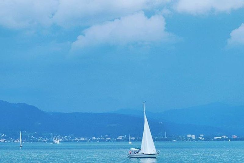 Sailboat Sailling . Beautiful View of the Lake . At the Hafen Port going on a Cruise in a Cruiseship . Lindau Bodensee Deutschland Germany . Taken by my Sonyalpha DSLR Dslt A57 . مرفأ يخوت بحيرة جزيرة لينداو المانيا