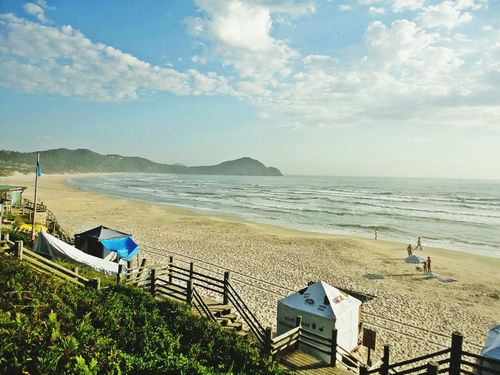 Praia do Rosa - SC Sea Beach Travel Destinations Outdoors Cityscape No People Day Peaceful View Santa Catarina, Brazil Tranquility Coastline EyeEm Nature Lover BrasilSensacional Santa Catarina Brazil Beautiful Nature PraiaDoRosa Sunlight Morning Light Beautiful Beaches