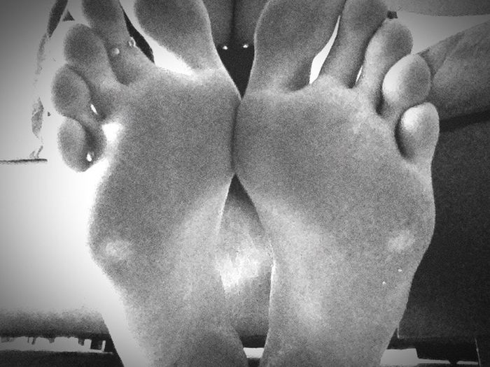 Toughasnails Hard Sole Feet Footprints