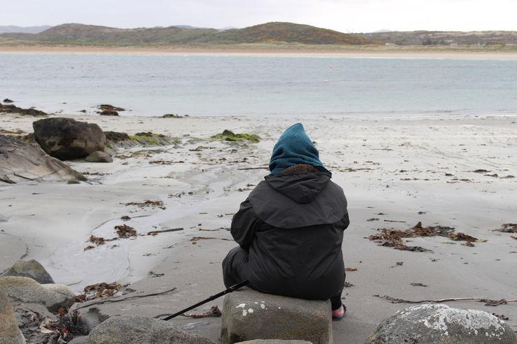 #Donegal #PeacefulMoment #Thoughtful #calm Beach Nature Sea Tranquil Scene