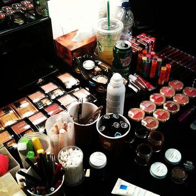 Makeup backstage Fashion Style Torontofashionweek Wmcfashionweek instagood instamood