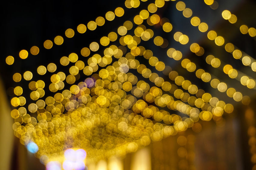 Fun time with friends / Durga Puja 2016 Abstract Blurred Circle Cultures Decoration Defocused Full Frame Geometric Shape Glowing Illuminated Image Focus Technique Lantern Lens Flare Lighting Lighting Equipment Multi Colored Night Outdoors Pattern Yellow Yellow Color