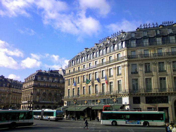 Original Experiences 2010 Blue Sky Feel The Journey Paris France Bus Streetphotography Europe |https://www.eyeem.com/p/82616239 | at Palais Garnier Showcase June Live Love Shop Fine Art Photography On The Way Colour Of Life TakeoverContrast