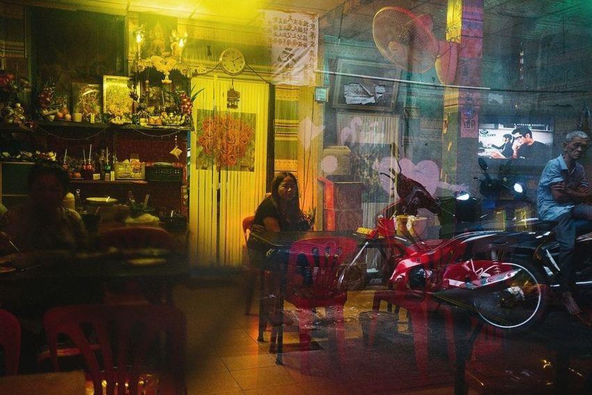 Bangkok Thailand. Streetphotography Yoonjeongvin Reflection Store Night Retail  Store Window Indoors  Choice The Street Photographer - 2018 EyeEm Awards #urbanana: The Urban Playground