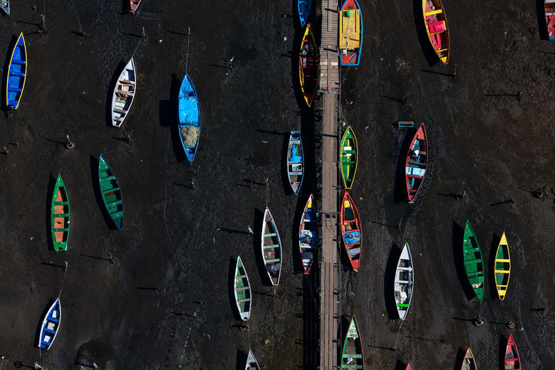Colors of a low tide Amazing View Brazil Colors Exploring Helicopter Natural Light Rio De Janeiro Travel Aerial Aerial Landscape Aerial View Art Beauty Boat Canon Canonphotography Decoration High Angle View Landscape Multi Colored No People Outdoors Photo Photography Shadows