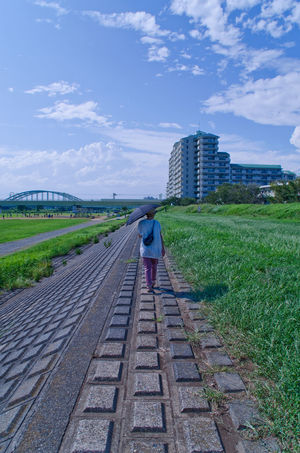 Last Summer. 去年の夏の写真を再アップするぐらいにアレな人間です。(東京 過去写) Nikon D7000 Japan Tokyo Sky