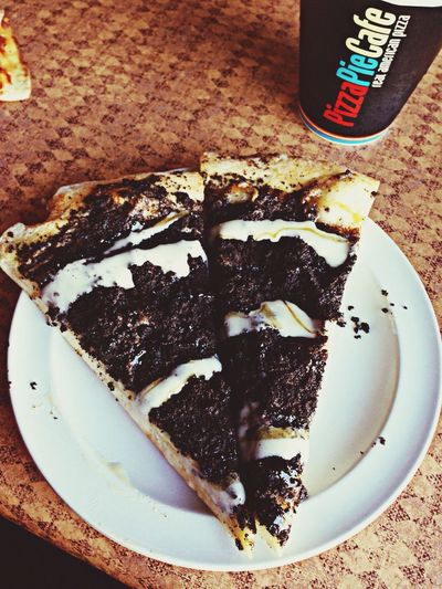 The best :') Oreo Pizza Pizza Pie Cafe Food Porn