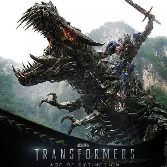 Grimlock and Optimus Prime.... Tf4 Autobots Dinobots