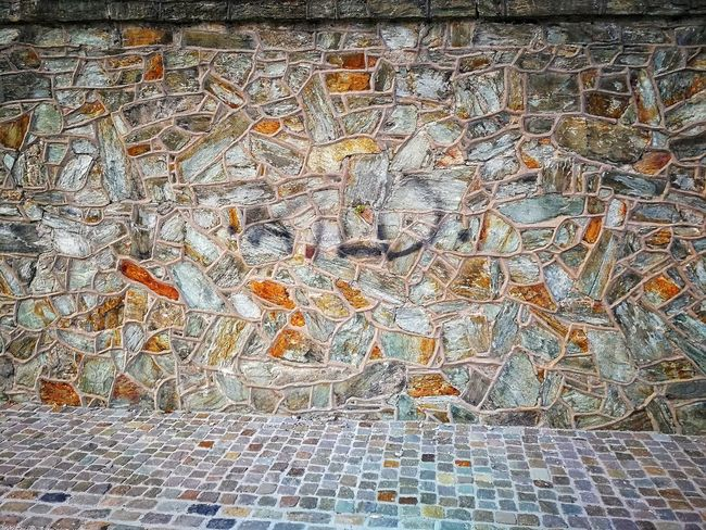 Wiesbaden Wall Wall - Building Feature Stone Stone Material Stein Mauer Steine Betterlandscapes Wall Backgrounds Multi Colored Full Frame Textured  Pattern Abstract Close-up