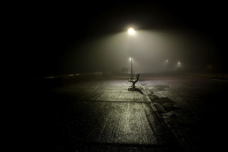 Dark Eerie Fog
