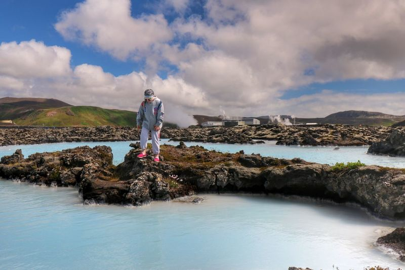 Blue Lagoon Iceland Blue Lagoon Blue Lagoon Hotel Capture The Moment My Daughter Beautiful Day Enjoying Life Nature On Your Doorstep Lava