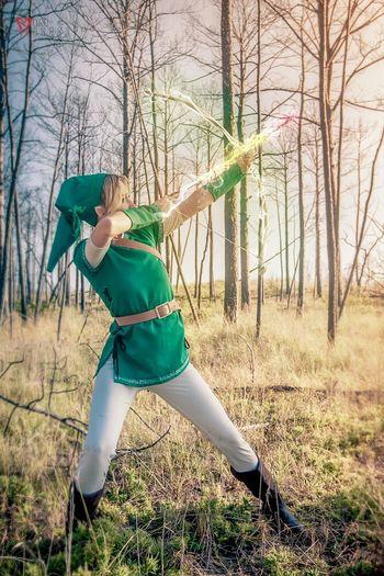 Cosplay Model Photoshop Nintendo Video Games Zelda