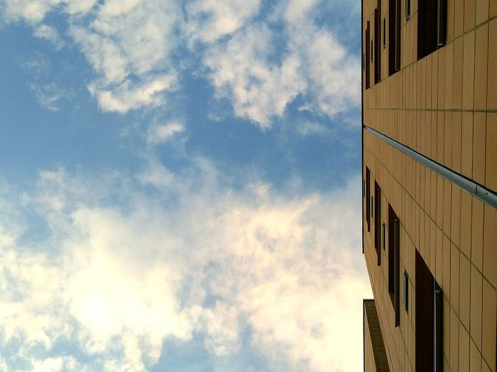 The only way is up Architecture Building Exterior Built Structure Cloud - Sky Sky Skyscraper City Low Angle View Office Building Exterior Outdoors Modern No People Backgrounds Day Nature The Graphic City
