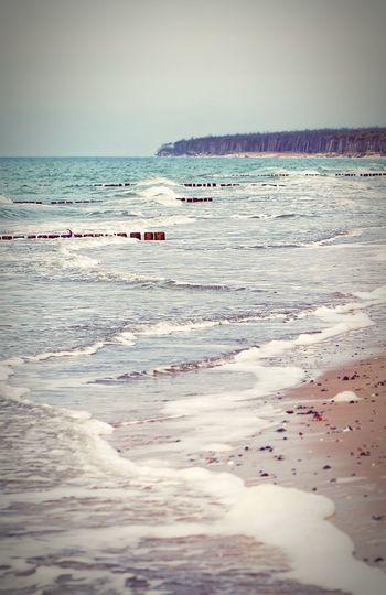 stormy baltic sea coast at darss peninsula, germany. Mecklenburg-Vorpommern Weststrand Ahrenshoop Baltic Sea Darß Beach Sand Dunes Groyne